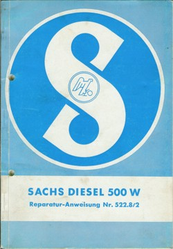 Sachs Diesel 500 Reparaturanleitung