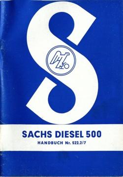 Sachs Diesel 500 Handbuch