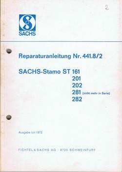 Sachs Stamo 161 201 202 281 282 Reparaturanleitung