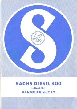 Sachs Diesel 400 Handbuch
