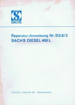 Sachs Diesel 400 Reparaturanleitung