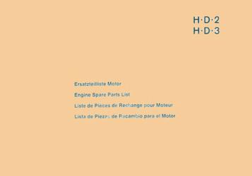 Holder HD2 HD3 Ersatzteilliste